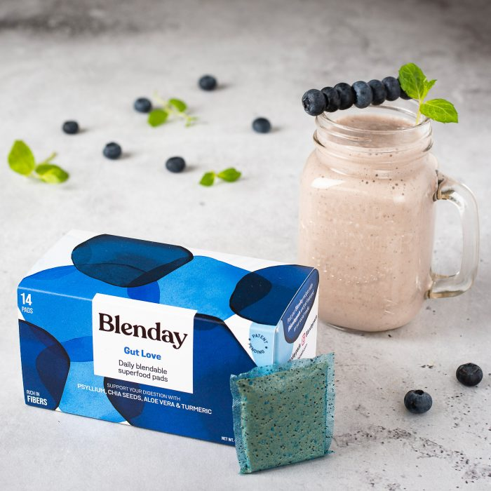 Blenday Gut Love Blendable Superfood Pads to Boost Your Smoothies